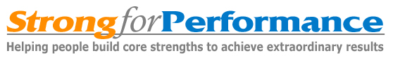 Strong for PERFORMANCE